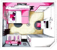 coiffeuse chambre ado aménagement et décoration chambre ado fille 4 usages canapé