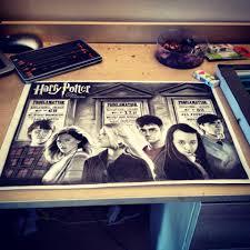 harry potter drawing pencil colour pencils craig stannard