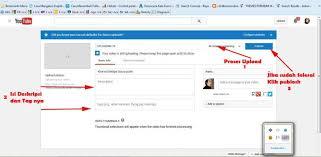 upload video di youtube menghasilkan uang tips mendapatkan uang dari youtube gedubar com