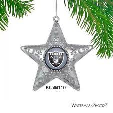 unisex oakland raiders nfl ornaments ebay