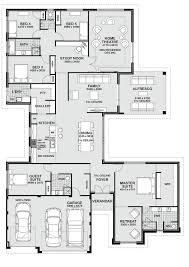 Contemporary Home Designs And Floor Plans by Contemporary Home Design Perth 2017 Of Narrow Lot Homes Plans With