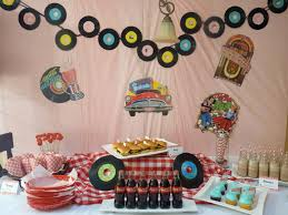 surprise your 50 year old with a vintage themed birthday party