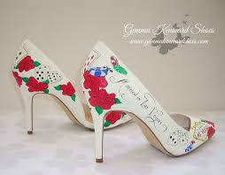 wedding shoes on heels