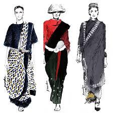 illustrations favourite looks lakme fashion week winter festive