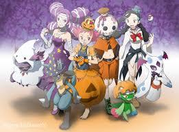 halloween okemon background