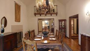 Grand Dining Room Tudor Home Staged In Harding Township Nj
