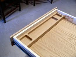add a drawer under a table dempsey woodworking roll top desk