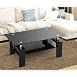 coffee tables u2013 glass oak wooden tables amazon uk