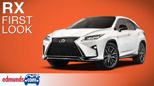 lexus 3 years old 2016 lexus rx first look new york auto show youtube