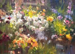 593 best flowers in art garden field images on pinterest oil