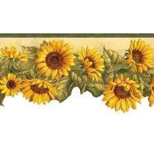 kitchen wallpaper borders ideas sunflower themed kitchen border wallpaper kitchen kitchen