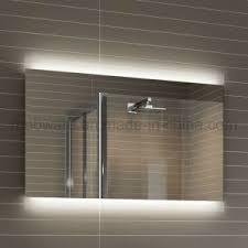 Illuminated Led Bathroom Mirrors by China Modern Full Length Hotel Led Illuminated Bathroom Mirror