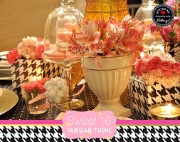Paris Centerpieces Styling Ideas For A Paris Themed Sweet 16 Soiree