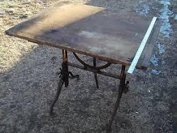 Mechanical Drafting Tables Vintage Antique Fritz Goeldel Mechanical Drafting Table Ebay