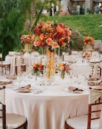 table arrangements for wedding reception