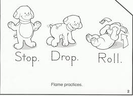 fire safety coloring pages preschool coloring kids