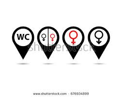 Male Female Bathroom Signs by Male Female Symbol Stock Images Royalty Free Images U0026 Vectors