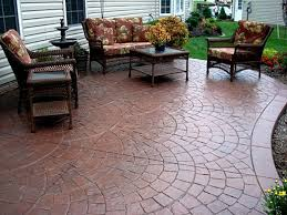 Concrete Patio Designs On Concrete Explode Patio Pictures Sted Designs Will A Pit