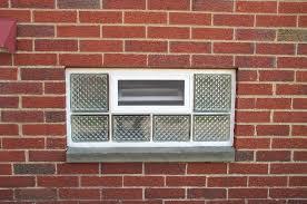 glass block basement windows with air vents u2014 new basement and