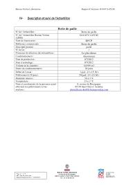 bureau veritas laboratoire rainbow by ecs 3 com norms rapport d analyses