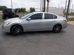 Used 24 Inch Rims Nissan Altima Wheels And Tires 18 19 20 22 24 Inch
