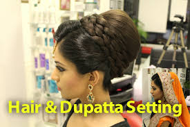 pakistani hairstyles in urdu tutorial indian pakistani asian bridal hair style youtube
