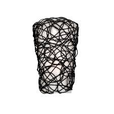 Battery Operated Wall Sconces It U0027s Exciting Lighting Wicker Black Indoor Battery Operated Led