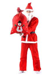 fabric costumes santa claus dress up clothes set