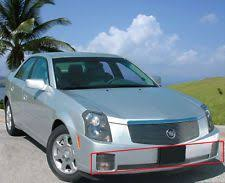 cts 03 cadillac glossy piano black 03 07 cts v mesh grill front grille fits