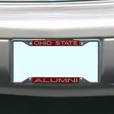 michigan state alumni license plate frame ncaa ohio state buckeyes license plate frame alumni