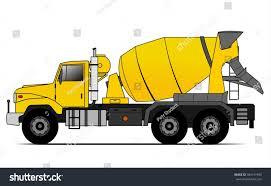 american style cement truck stock vector 384147940 shutterstock