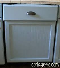 building a dishwasher cabinet metal trim to prevent food from falling between your stove and