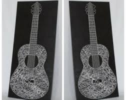 Guitar Home Decor Guitar Decor Etsy