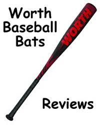 worth bats in depth worth baseball bats reviews