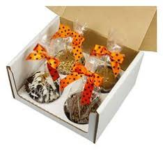 candy apples boxes 3573 4 x 4 x 4 5 8 candy apple box brown brown with window