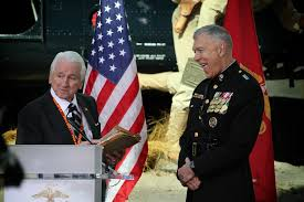 Usmc Flag Officers 65 Years Later Iwo Jima Veterans Honored At Commemoration Of