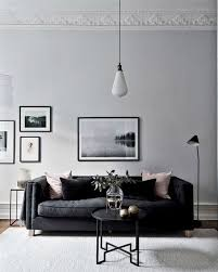 White Sofa Ideas by Best 25 Black Couch Decor Ideas On Pinterest Black Sofa Big