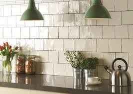 Wonderful White Square Tile Backsplash For Design Ideas - Square tile backsplash