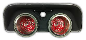 68 chevelle tail lights 1968 dodge charger led tail light panels digi tails