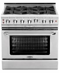 36 Inch Cooktop With Downdraft 6 Burner Gas Cooktop At Us Appliance