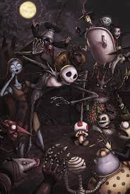 fan art friday the nightmare before christmas by techgnotic on