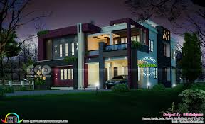 stunning luxury contemporary house with 5 bedrooms kerala home