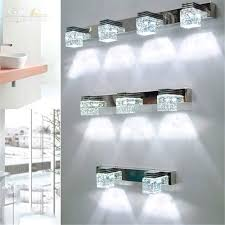 crystal bathroom lighting vanity