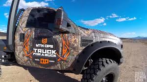 ford hunting truck mtn ops dpg truck for a buck youtube