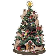pug tree the danbury mint