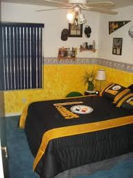 Pittsburgh Steelers Comforter Pittsburgh Steelers Bedding And Room Decorations Modern Bedroom
