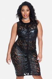 plus size ava mesh bodycon dress i would rock that pinterest