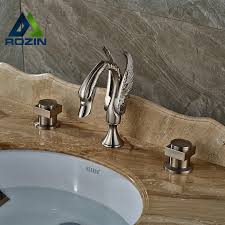 Swan Bathroom Faucet Compare Prices On Widespread Bathroom Faucet Online Shopping Buy