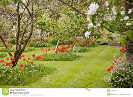 english country garden royalty free stock image image 14488196