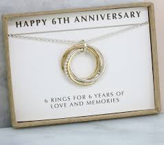 6th anniversary gifts for 6th anniversary gift 6 year wedding anniversary gift for
